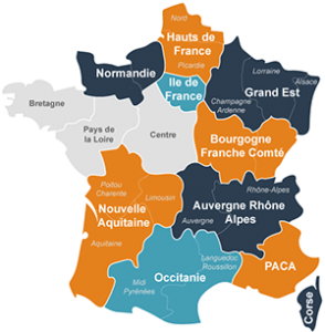 Distributeurs en France